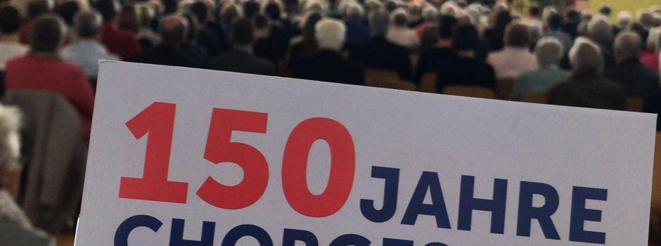 150 Jahre Chorgesang - Jubiläumskonzert