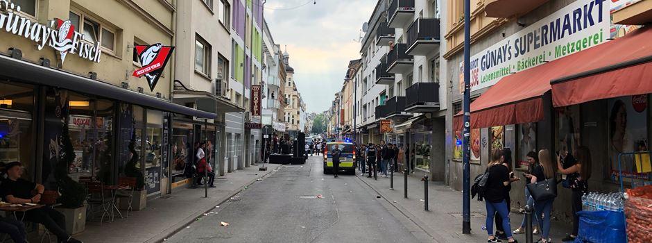 Polizisten nach Veranstaltung in Wellritzstraße angegriffen
