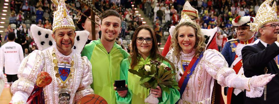Sieg im Karnevalsspiel der Bonner Baskets