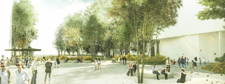 Neuer Park in Bockenheim geplant