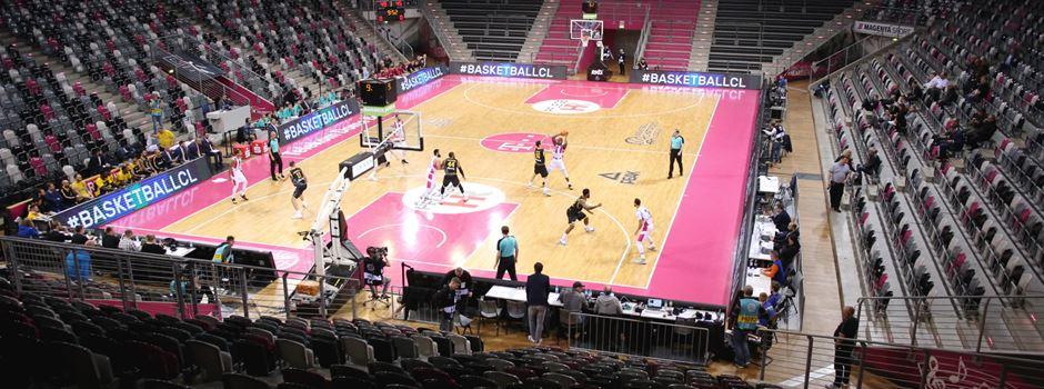 Geisterspiel bei den Telekom Baskets Bonn