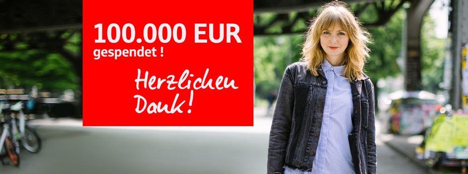 Gemeinnützige Vereine erhalten 100.000 Euro über mainFrankfurt-Spendenplattform der Frankfurter Sparkasse