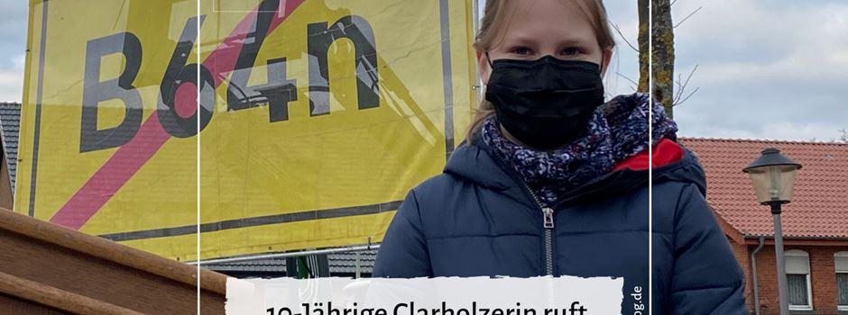 10-Jährige Clarholzerin ruft zur Demo gegen die B64n