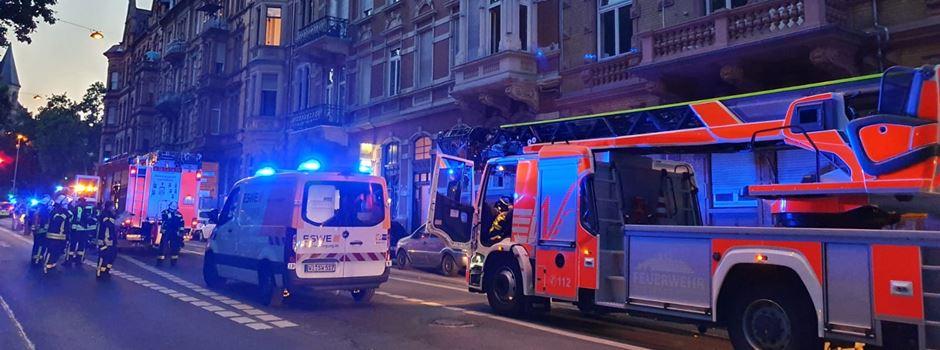UPDATE: Großeinsatz der Feuerwehr in der Rheinstraße