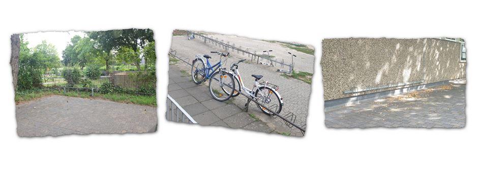 Ärger über Überprüfung von Fahrradabstellanlagen der Niederkasseler Einzelhändler