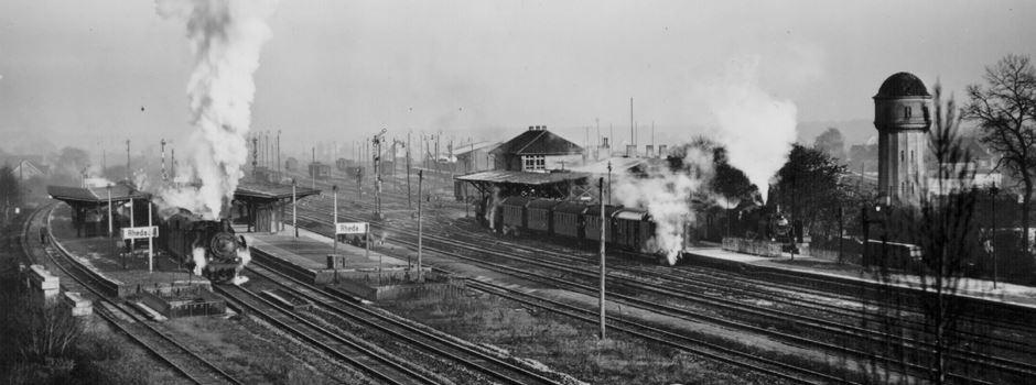 Schlimmer Eisenbahnunfall in Herzebrock
