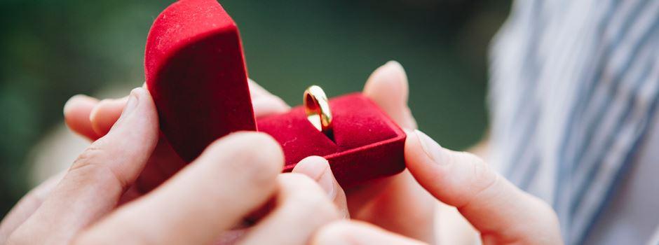 Ja, ich will! - 5 Ideen für den perfekten Heiratsantrag in Augsburg