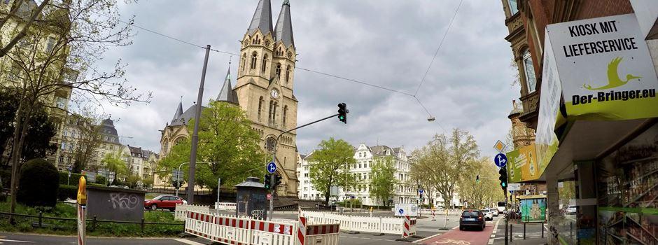 Bauarbeiten an der Ringkirche neigen sich dem Ende zu