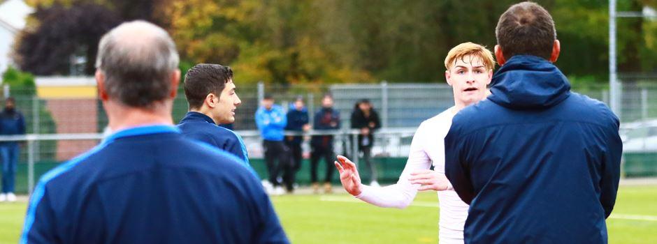 Mit dem Platzverweis kam die Niederlage für die Borussia