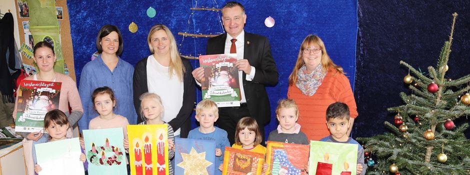 Adventskalender im XXL-Format: Rund 300 Kinder aus Soltau machen mit