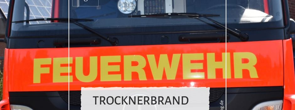 Trocknerbrand in der Berliner Straße