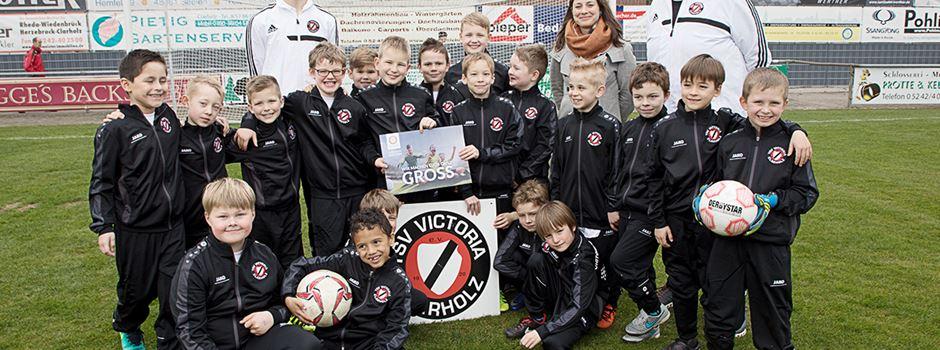 F2-Jugend der TSV Victoria Clarholz gewinnt Teampreis