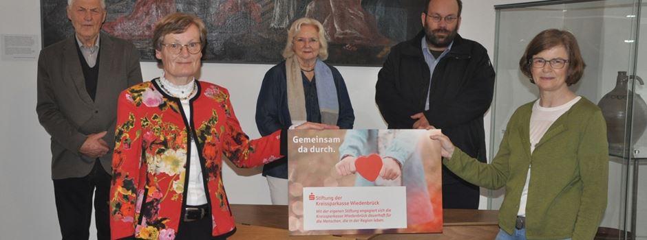 Anzeige: Stiftung der Kreissparkasse Wiedenbrück  und Freundeskreis Propstei Clarholz