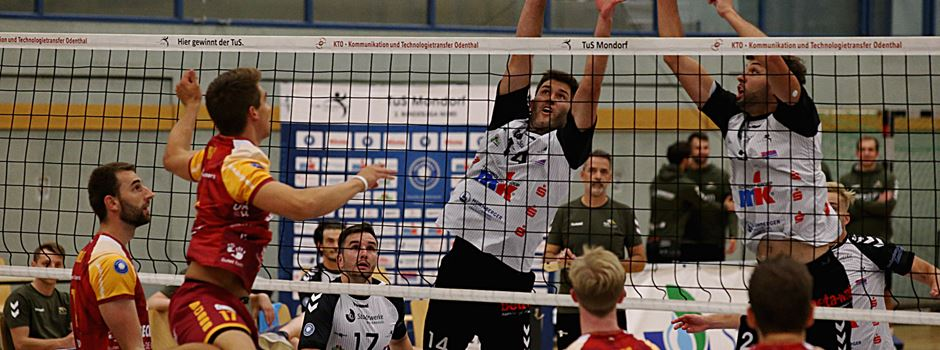 Volleyball: Topspiel wird ein 5-Satz Krimi