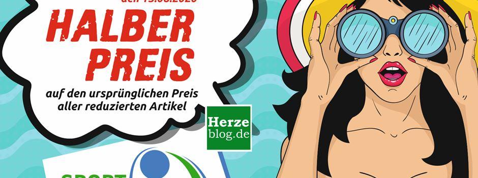 """Anzeige: Bis Samstag """"Halber Preis"""" bei Sport Weckenbrock"""
