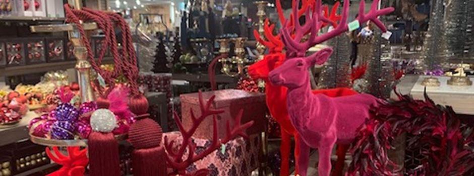 Besondere Deko entdecken –Weihnachtsmarkt bei Segmüller