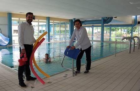 Hallenbad Herzebrock öffnet am 5. JuliSchwimmkurse haben Vorrang