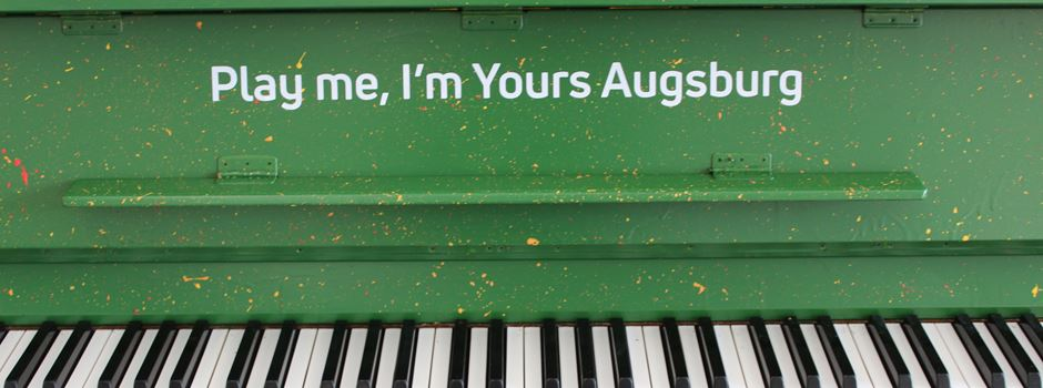 Play Me, I'm Yours: Die Augsburger Straßenklaviere sind zurück