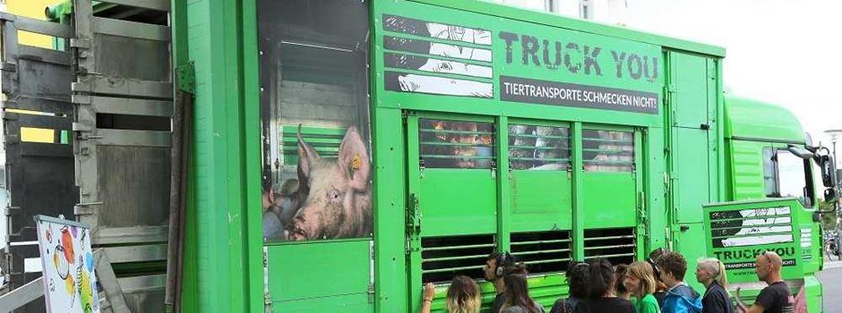 Umgebauter und begehbarer Tiertransporter kommt nach Mainz