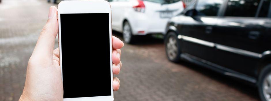 Kommt die Knöllchen-App gegen Falschparker?