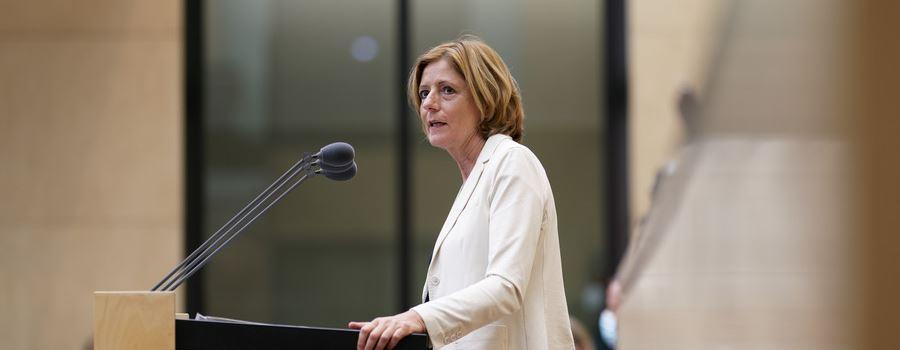 Ministerpräsidentin Malu Dreyer: Wiederaufbau braucht beschleunigte Verfahren