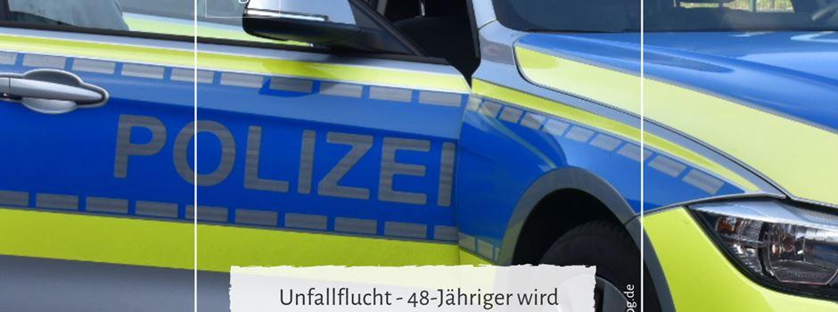 Unfallflucht - 48-Jähriger wird alkoholisiert gestellt