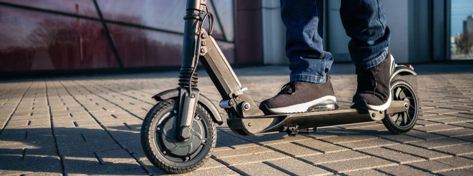Polizei beschlagnahmt zu schnellen E-Scooter