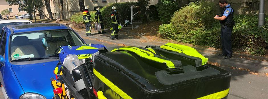 Unbekannter Geruch sorgt für sieben Verletzte in Kohlhecker Mehrfamilienhaus