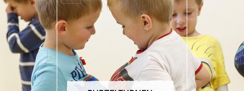 Purzelturnen für Kinder von 1 bis 3 Jahren