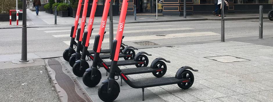 E-Roller Verleihsystem in Wiesbaden steht in den Startlöchern