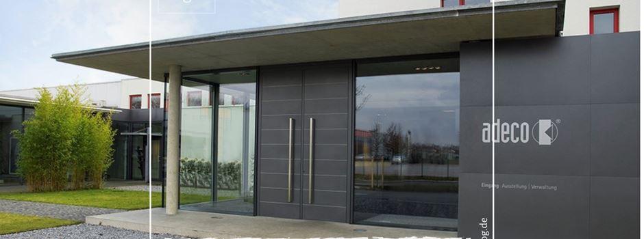 Stellenanzeige: adeco Türfüllungstechnik GmbH sucht Mitarbeiter Produktion