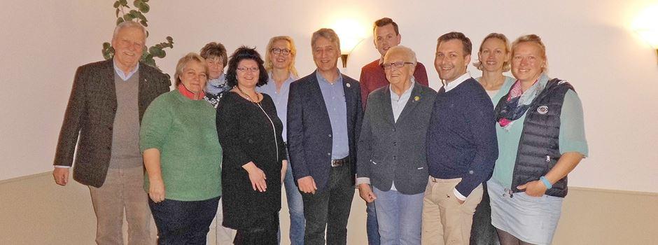 Bernd Block mit der Ehrennadel des Niedersächsischen Reiterverbandes in Gold ausgezeichnet