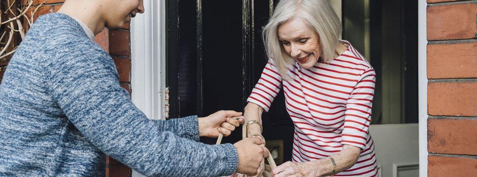 Coronakrise: Viele Hilfsangebote für ältere Menschen
