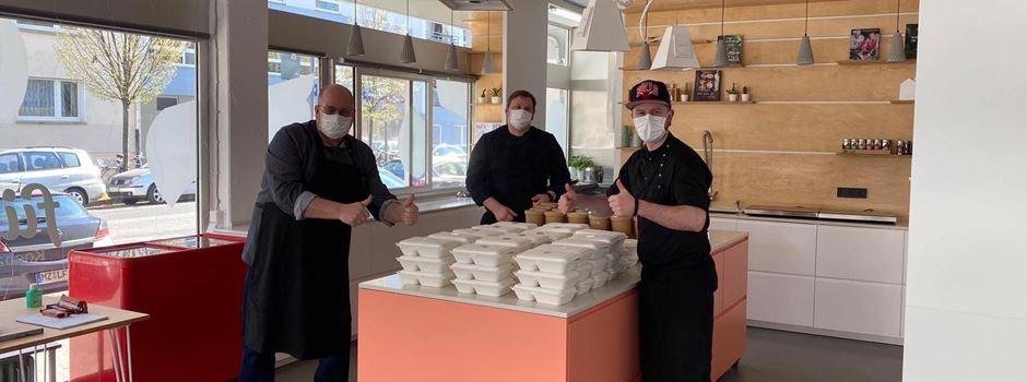 Mainzer Gastronomen kochen für Corona-Helden