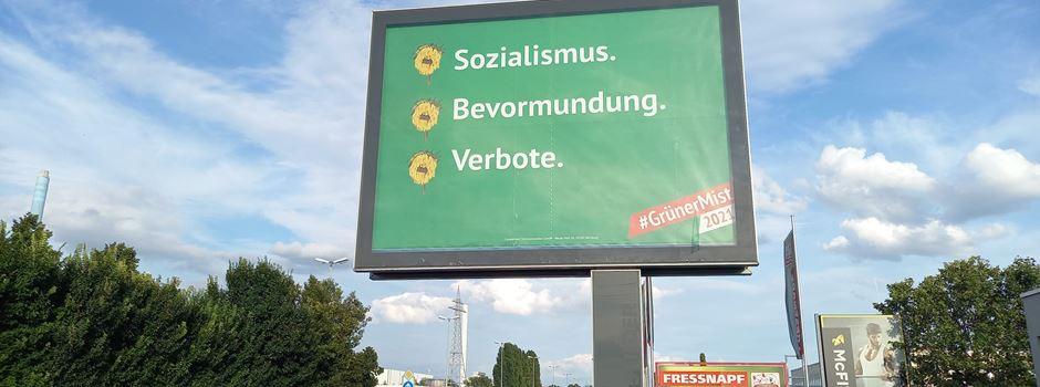 Was hinter den Anti-Grünen-Plakaten in Mainz steckt