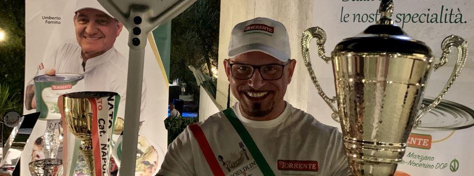Mainzer der beste Pizzabäcker der Welt