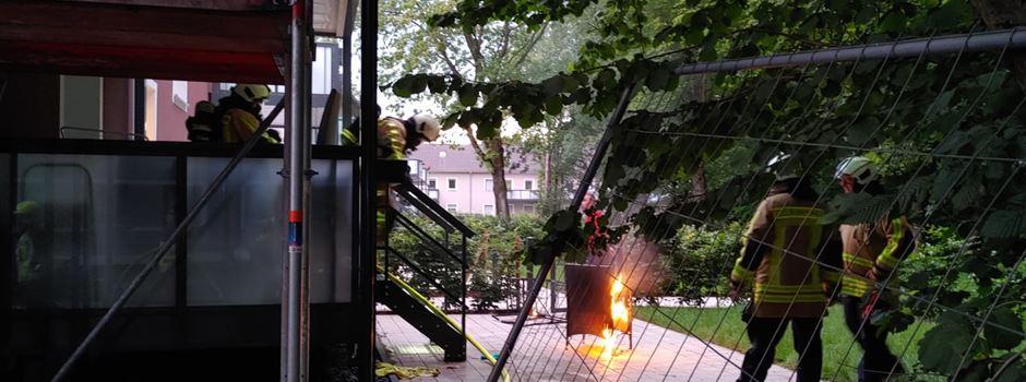 Tatverdächtiger Brandstifter (54) sitzt noch in Haft - trotzdem brennt es