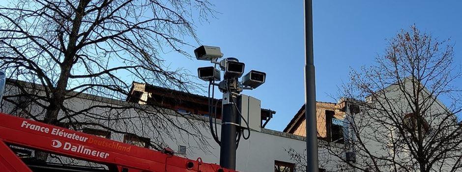 Polizei klärt 86 Straftaten durch Kameras in der Innenstadt auf