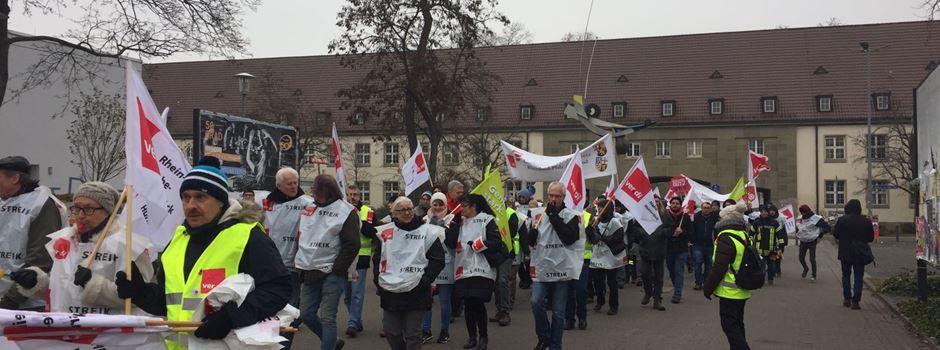 Verdi kündigt Warnstreiks in Rheinland-Pfalz an