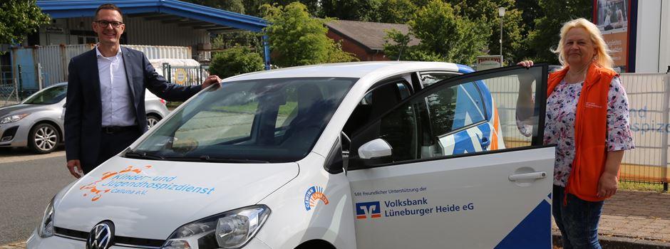 Kinder- und Jugendhospizdienst Calluna freut sich über Dienstwagen zum Nulltarif