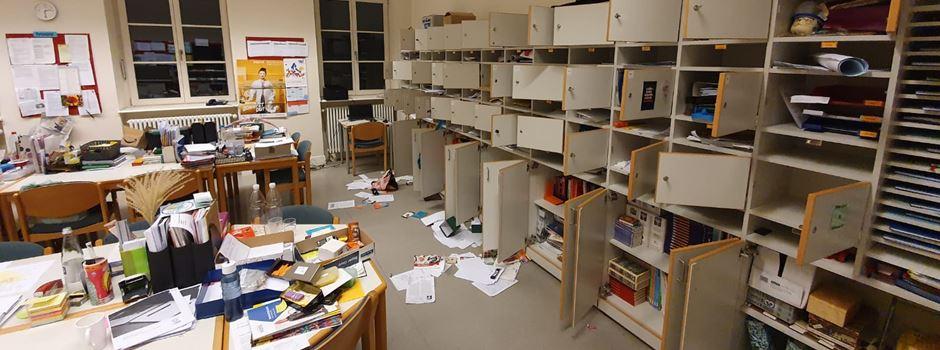 Einbrecher verwüsten Wiesbadener Schule