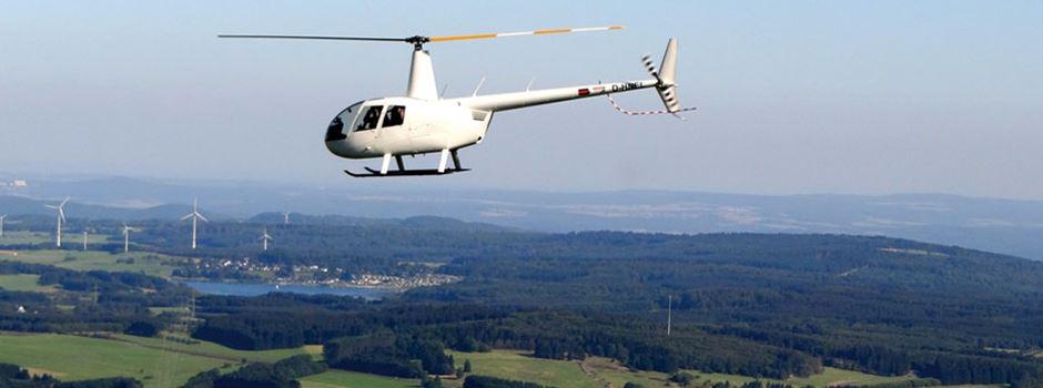 Adventskalender: Tag 24 - Hubschrauber-Rundflug mit Fly and Help
