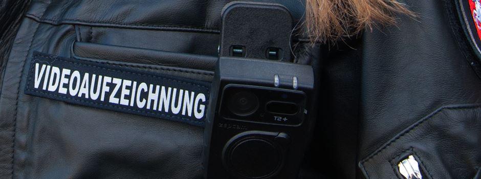 Polizei setzt Bodycams ein