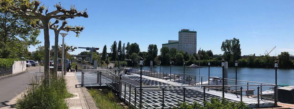 Gastronomie am Schiersteiner Osthafen soll schon Anfang Juni eröffnen