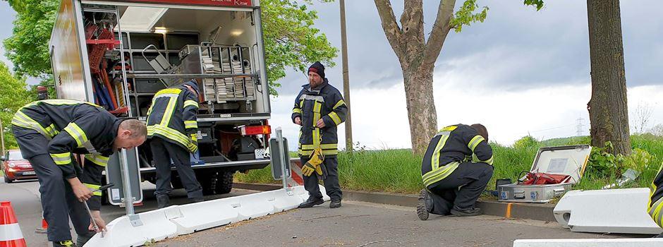 Verkehrsberuhigungsmaßnahmen führten zum ersten Crash