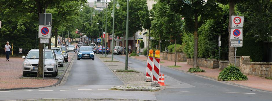 Fahrbahn-Sanierung: Bahnhofstraße wird zwei Tage lang voll gesperrt