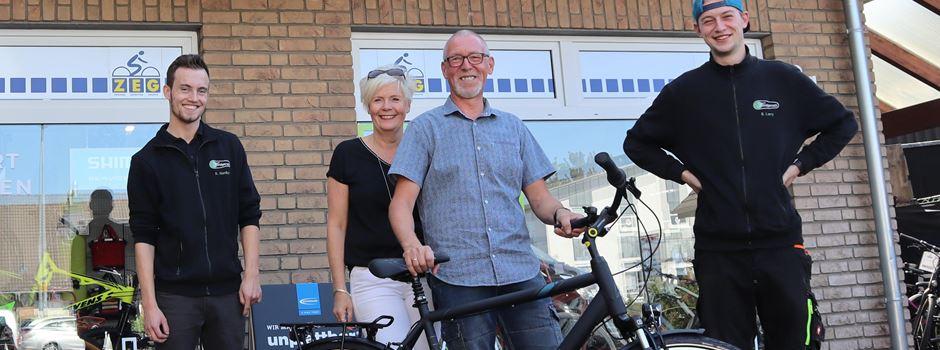 Radstudio Söndgerath verloste Fahrrad zur Teilnahme am STADTRADELN