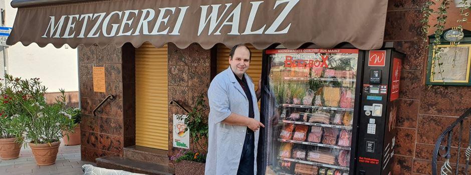 Fleisch aus dem Automaten: Mainzer Metzger setzt auf Beefbox