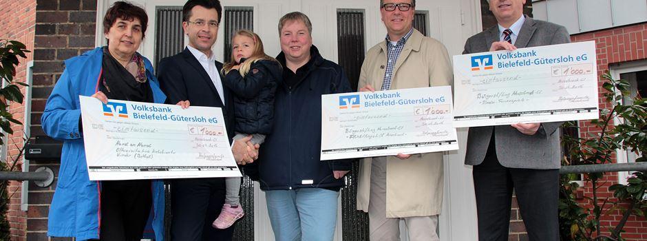 Kolpingsfamilie Herzebrock spendet 3.000 EUR