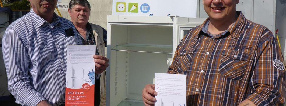 Förderung für Kühlgeräte-Tausch bei geringem Einkommen